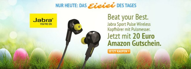 Amazon EiEiEi des Tages am 21.3.2015 mit Jabra Kopfhörer
