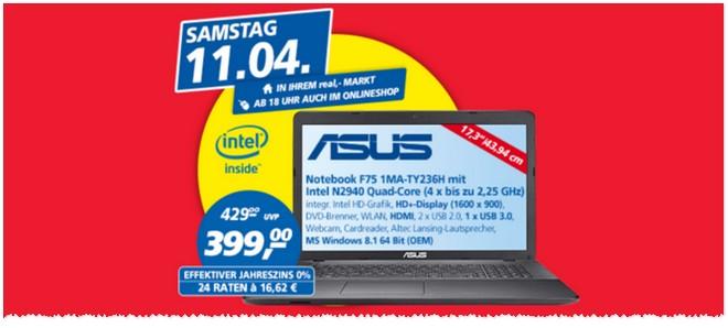 Asus F75 1MA Real-Angebot