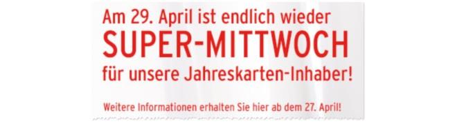 Ernstings Family Super-Mittwoch im April 2015