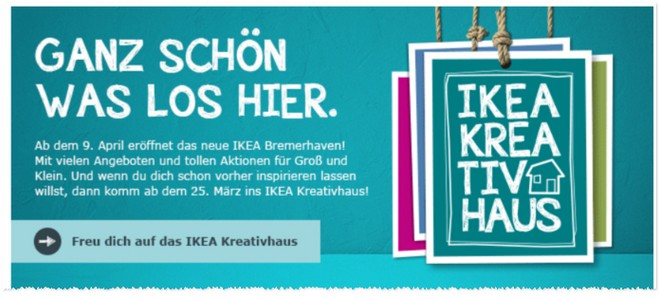 ikea er ffnung in bremerhaven am 9. Black Bedroom Furniture Sets. Home Design Ideas