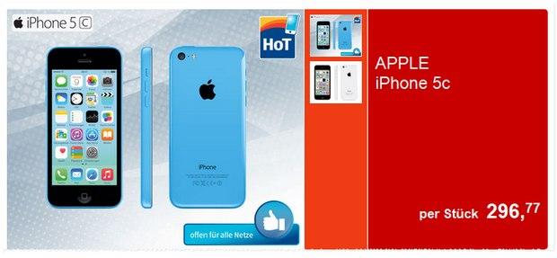 iPhone 5C bei Hofer.at als Angebot ab 19.3.2015 für 296,77 €