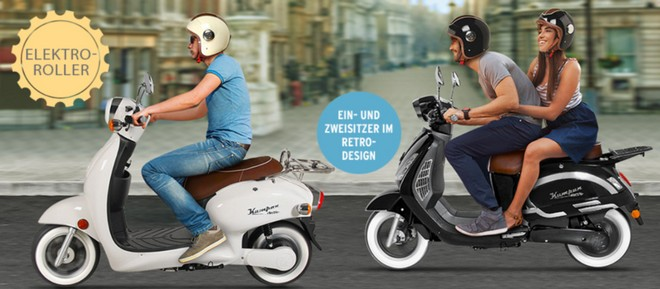 Kumpan E-Roller Tchibo
