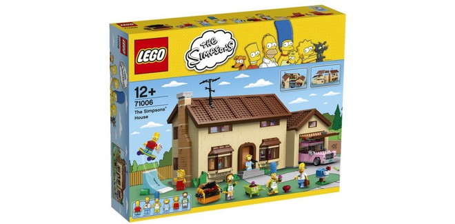 LEGO The Simpsons Haus 71006