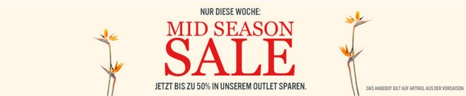 Marc O'Polo Mid Season Sale 2015