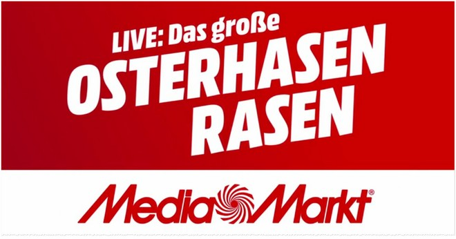 Media Markt Osterhasen-Rasen