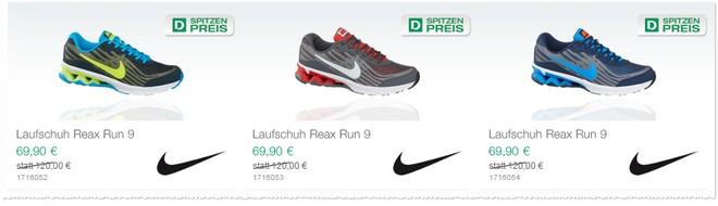 Nike Reax Run 9