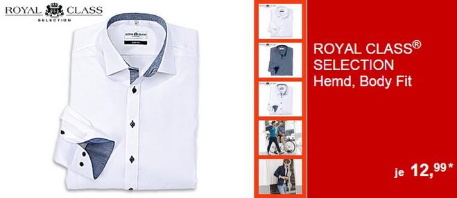 Royal Class Selection Hemden bei ALDI Süd ab 12.3.2015 für 12,99 €