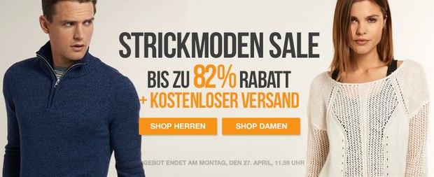 Superdry Outlet-Angebot der Woche: Strickmoden-Sale mit bis zu 82% Rabatt
