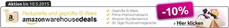 Amazon Warehouse Deals Aktion 2015