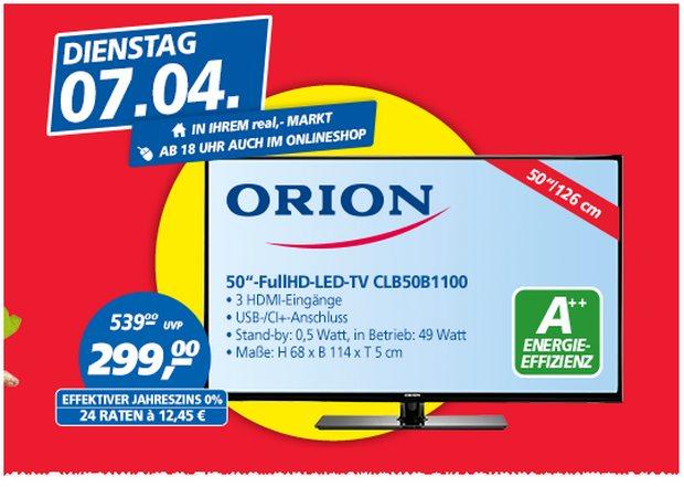Orion CLB50B1100 als Real Preisbrecher