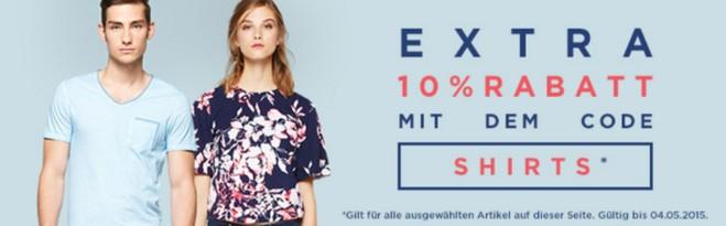 About You Gutscheincode Shirts