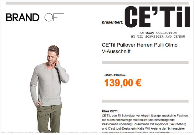 CETIL-Mode über Brandloft