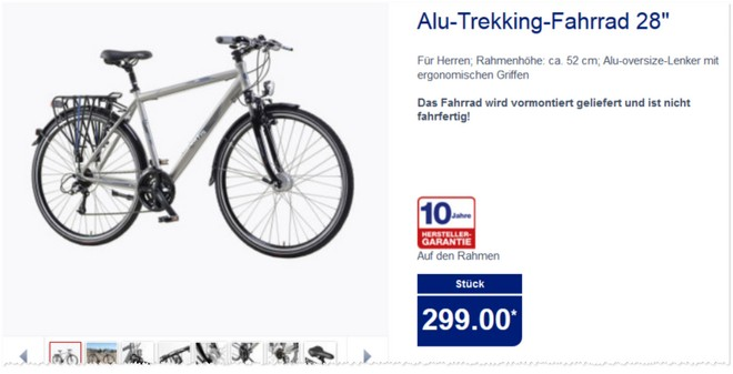 curtis alu trekking fahrrad aldi nord angebot 27. Black Bedroom Furniture Sets. Home Design Ideas