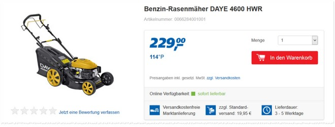 Daye 4600 HWR