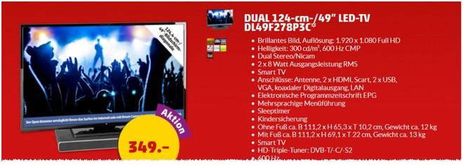 Dual DL49F278P3C