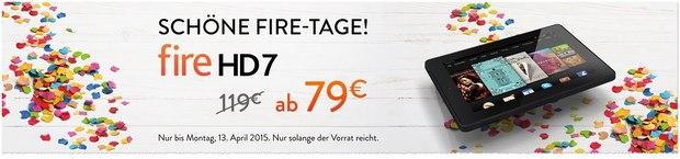 Fire HD 7 für 79 €