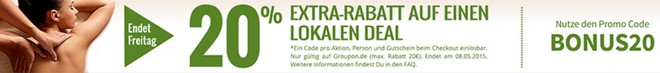 Groupon Bonus Gutschein