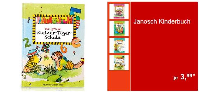 Janosch Kinderbücher bei ALDI Süd ab 9.4.2015