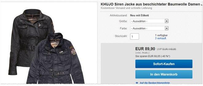 Khujo Online-Shop