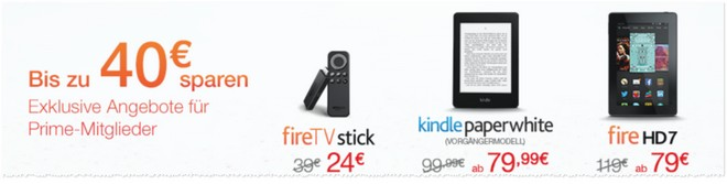 Kindle Fire für 79 Euro
