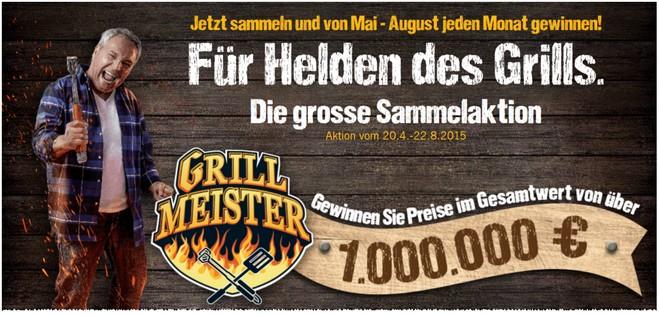 LIDL Grillmeister Treuepunkte-Sammelaktion