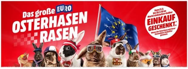 Media Markt Osterhasen-Rasen Gewinnspiel 2016