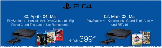 PS4 Amazon Mai Bundle 2015