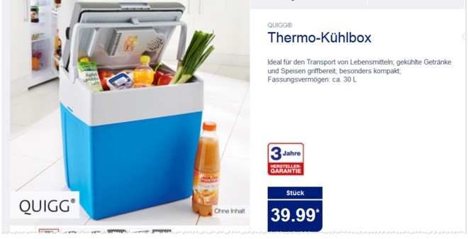 quigg thermo k hlbox als aldi nord angebot ab 23. Black Bedroom Furniture Sets. Home Design Ideas