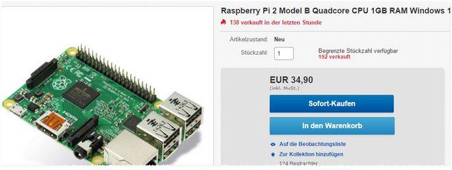 Rasperry Pi 2 Model B