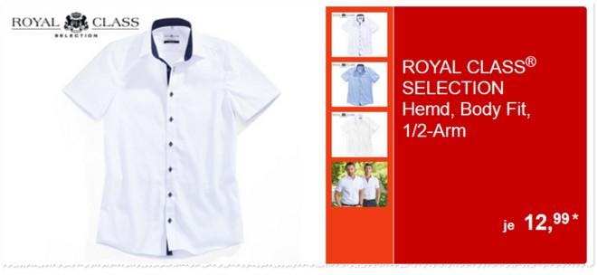 Royal Class Selection Hemden mir 1/2 Arm