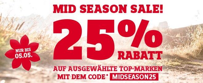 SportScheck Mid Season Sale