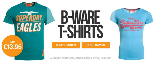Superdry B-Ware-T-Shirts