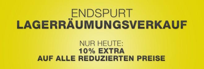 XXXL Online-Lagerverkauf