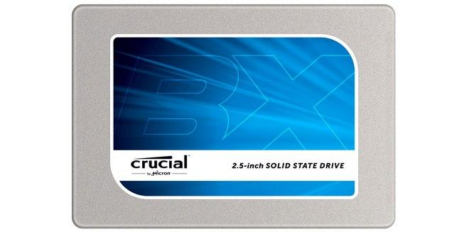 Crucial BX 100 SSD-Festplatte