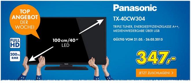 Euronics-Angebot ab 21.5.2015: Panasonic-Fernseher
