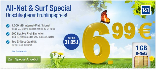 GMX.DE All-Net & Surf Special