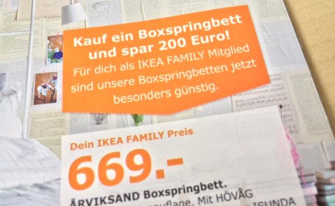 IKEA Boxspringbetten