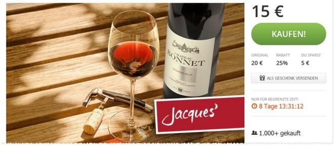 Jacques' Wein-Depot Gutschein