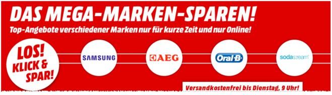 Media Markt Mega-Marken-Sparen