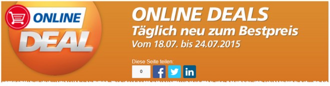 Real Online Deal des Tages