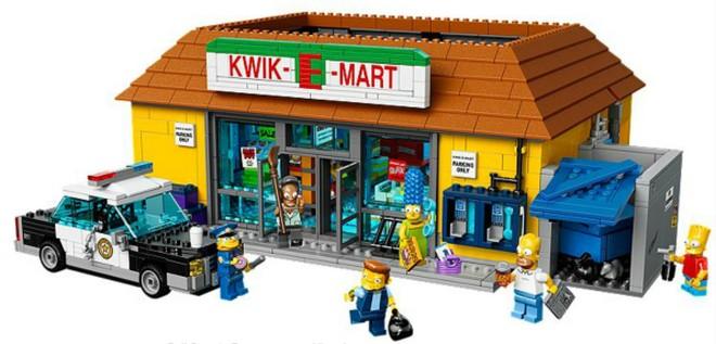 Simpsons Kwik-E-Mart - LEGO Artikelnummer 71016