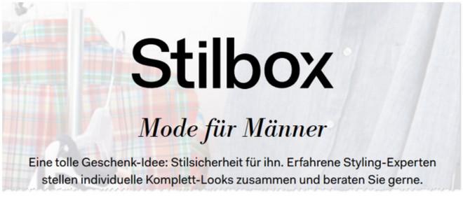 Stilbox Gutschein