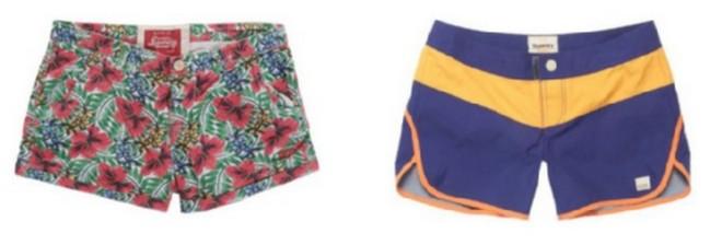 Superdry-Damen-Shorts