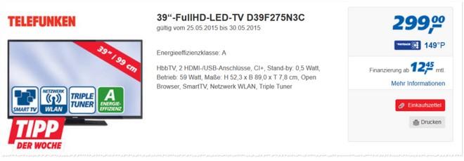 Telefunken D39F275N3C