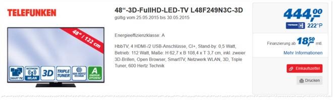 Telefunken L48F249N3C-3D