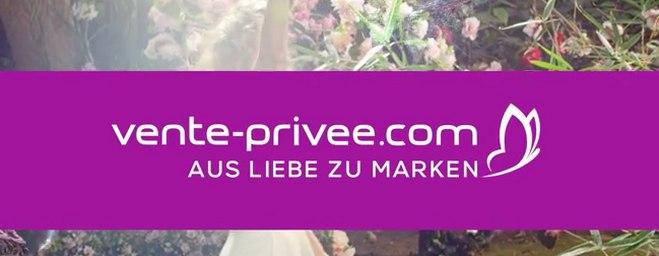 Vente Privee: »Aus Liebe zu Marken«-Werbung