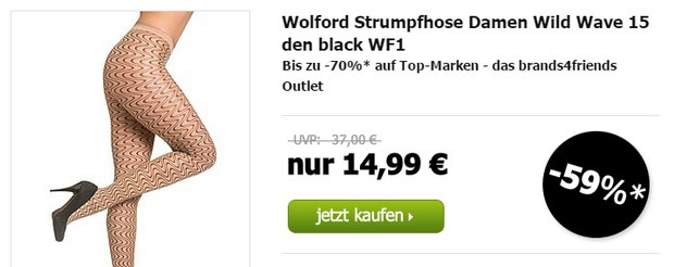 Wolford im brands4friends Outlet