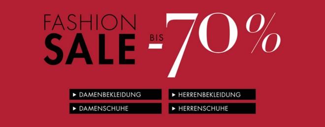Amazon Fashion Sale 2015 mit bis zu 70 Prozent Rabatt