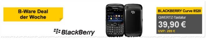 Blackberry Curve 8520 ohne Vertrag