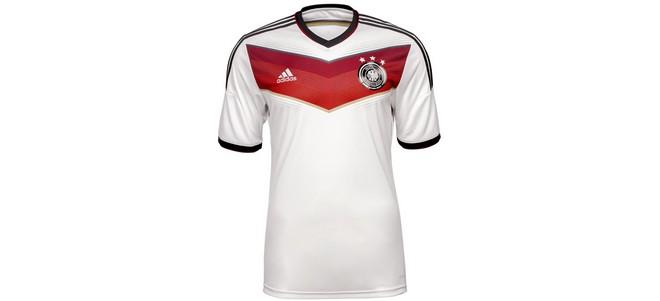 Adidas DFB Deutschland-Trikots der WM 2014 mit 3 Sternen